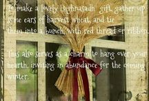 Lughnasadh Magick, spells & activity's