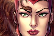 Scarlet Witch / by Ronald Lukomski