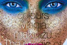 """""""Pałac kolorów. Magia makijażu"""" Dorota Kościukiewicz-Markowska / Przegląd literatury branżowej - Makijaż, Wizaż. Albumy. Zdjęcia. Publikacje."""