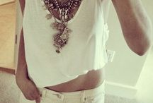 Clothing & Accessories:  LAYER UP / Ideas on how to layer your necklaces