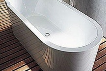 Duravit Bathrooms / By embodying their belief that the bathroom is a living space for comfort and closeness, Duravit leads with example by offering tubs, furniture, saunas and showers that envelop but do no constrict. See what they have to offer at our PlumbTile site: http://bit.ly/9IRMap
