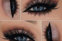 eyes ( and make-up )