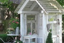 Havehuse og terasser - Garden houses and porches / by ★☆★ Marianne ☆★☆