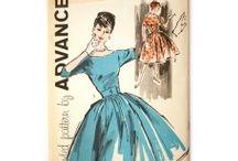 Vintage 1960s Dress Patterns
