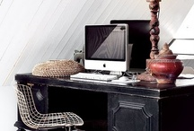 Workspace Organization /  To do: home office makeover.
