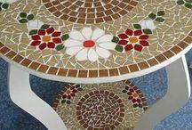 Mesas en mosaico