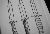 facas e adagas