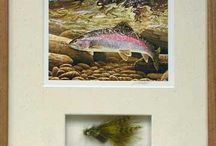 Framed Fish Wall Art / Framed fish art available for sale on our site.