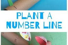 Plant a number line