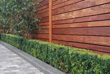 Wall at end of garden