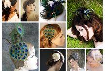 peacock theme board