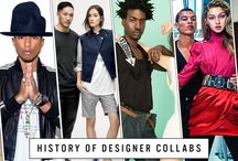 DESIGNER  COLLABORATIONS  IN  HISTORY