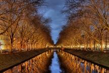 Düsseldorfer Panorama Fotos
