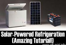 Solar refrigeration