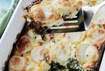Potatoe Side dishes / by Kym Bartlett