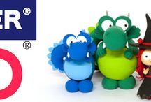 Modellieren mit Fimo & Polymer Clay / Wir haben das komplette Fimo-Sortiment zu günstigen Preisen immer vorrätig! Erfahrt mehr über die Produkte und seht Tutorials und Tipps und Tricks zur Gestaltung mit Fimo!