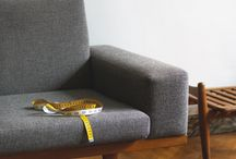 Sofa, Chair, & Table