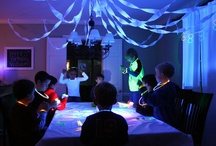 glow in dark party