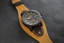 Correa Cuero reloj 2 colores