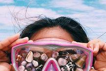 Ocean in the air, sand in my hair