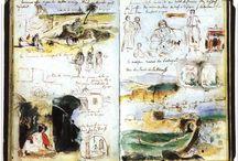 Delacroix Sketchbook