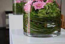BLOEMSTUK in vaas / bloemsttukken maken in een vaas