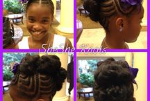 Hair styles and hair care for little black girls / by Phyllis Towns