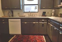 Rugs in Your Kitchen / Rugs are a great way of adding an element of decoration to your kitchen.