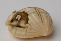 Netsuke / Here are some inspiring Netsuke, some from our collection  / by Barry Thackray