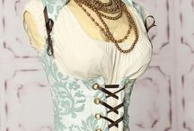 My dressup box / Costumes and fancy stuff that I LOVE but could never get away with wearing  ;)