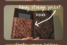 DIY: Kindle Hardcovers & Cases