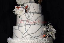 Wedding christmas cake