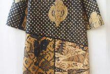 Sackdress batik
