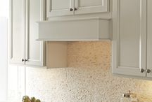 Range Hood Ideas / A hood over your stove is an easy way to give your kitchen has extra kick. #prescottkitchens www.prescottkitchens.com