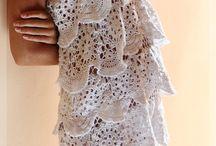 crochet inspiration, clothes, acccessories; ubrania, dodatki, inspiracje szydełkowe