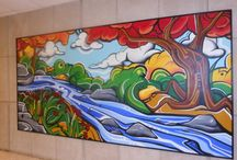 Lincoln High School Mural 2013-2014 / by Meredith Jane
