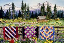 Quilting the Day Away... / by AuntieBe
