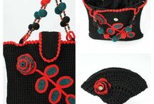 crochet bags, wallets, clutches / crochet bags, wallets, clutches