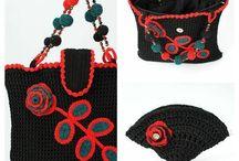 crochet bags, wallets, clutches / crochet bags, wallets, clutches
