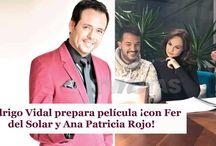 Rodrigo Vidal prepara película ¡con Fer del Solar y Ana Patricia Rojo!