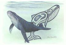 Whale tatoo