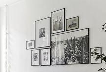 Muur collage