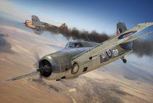 ww2 British Fighter Planes