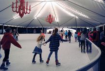 Where to Find the Best Ice Skating Rinks in Austin / It rarely snows in Austin but that doesn't mean Austinites can't have some traditional winter fun! If you've already bought your Christmas tree and saw holiday lights, next on your list should be finding some local ice skating rinks! Realty Austin compiled the perfect list for you, so grab a jacket and get ready for some winter adventures!
