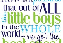 ideas for wall art for boys / Boy quotes