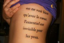 Tattoos  / by Brandy Cassidy