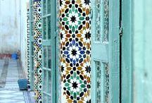 Marrakech / Till vårt uterum