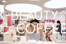 K-Beauty & Coffee / K-Beauty & Coffee is a series about beauty shopping in Seoul.