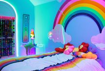 Kelsey's rainbow room
