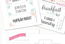 Assorted Printables